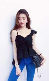 Asymmetrical Bustier Top (Few Colours Available)