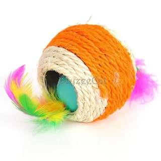 [Ready Stock] CT057 Cat Toys - Sisal Woven Ball