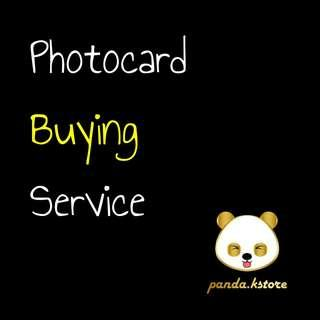 Photocard Buying Service