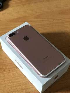 Iphone 7 plus / iphone 7+ 256 RoseGold
