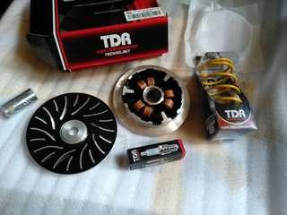 TDR pulley set for Aerox / Nmax