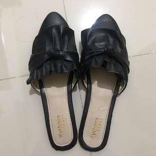 flat shoes mules