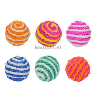 [Ready Stock] CT058 Cat Toys - Sisal Ball