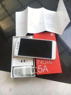 Jual murah Xiaomi Note 5A Ram 4gb Rom 64gb Mantap