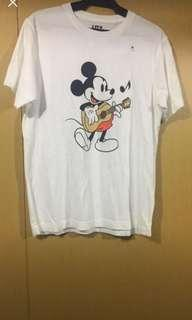 Uniqlo Mickey Mouse Shirt