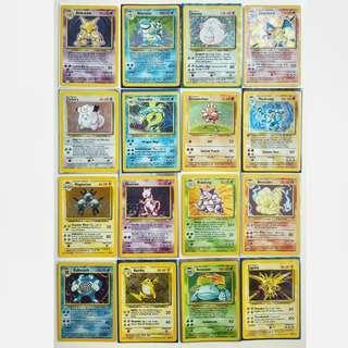Pokemon Cards base set 99/102
