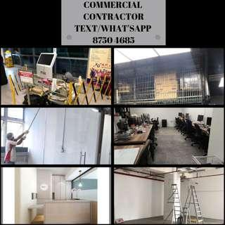 Commercial contractor. BCA licensed. What'sapp us 87504685
