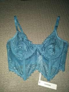 Brand new! Glassons lace bralette size 10 will fit an 8