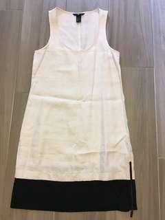 H&M白色連身裙