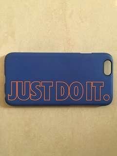 Nike iPhone 6s 手機殼  just do it 尼克配色 藍 橘