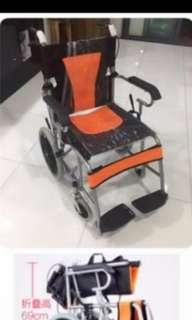 🚚 Lightweight Foldable Wheelchair Used