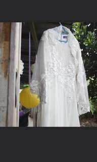 baju nikah / dress