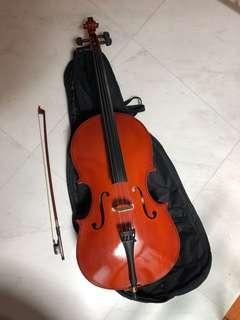Cello 1/4 made in Spain