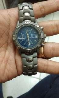 Jam crono titanium