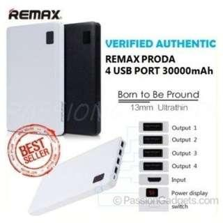 REMAX PRODA NOTEBOOK 30000mAh