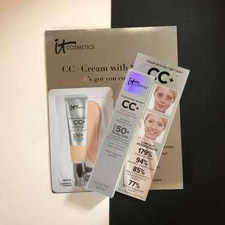 IT cosmetics CC Cream Bundle