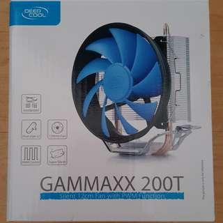 (RUSH) CPU Heatsink Fan - Deep Cool Gammaxx 200T