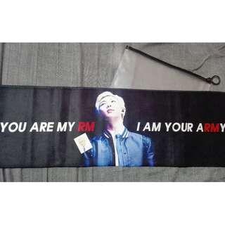 Bts RM / Kim Namjoon Fansite Cheering Banner / Slogan