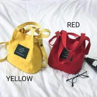 Mini Totebag / Sling Bag Canvas