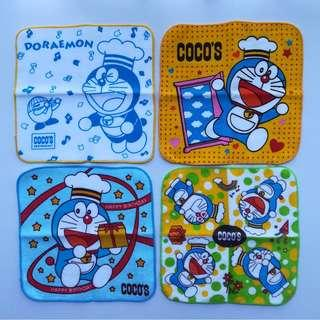 Doraemon x Coco's Restaurant - Hand Towel / Mini Towel