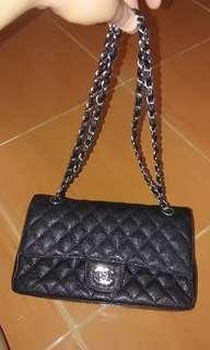 Chanel double flap chain
