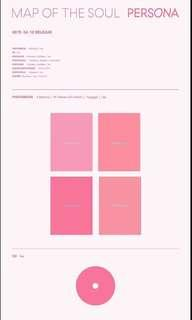 🚚 BTS MAP OF THE SOUL : PERSONA