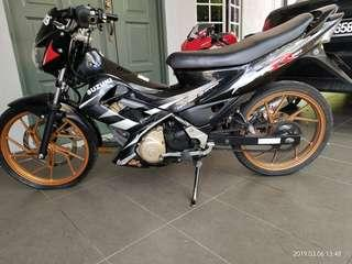 Suzuki Raider 150 @ Belang limited edition..
