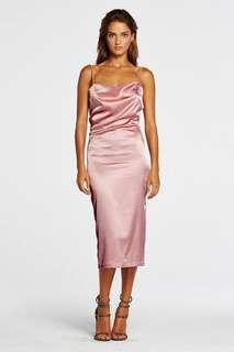 Maurie and Eve- Pink formal Dress