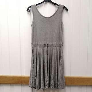 🚚 Modal Grey Sleeveless Dress Plus size