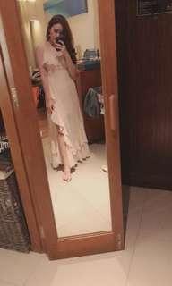 Bythian ruffle dress