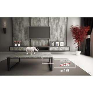 *Promo Price* Industrial style Coffee_Table with laminate