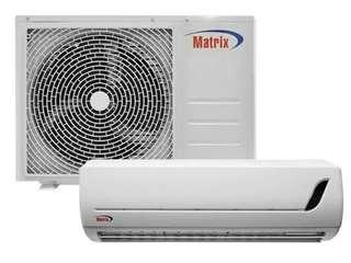 Matrix split type inverter aircon