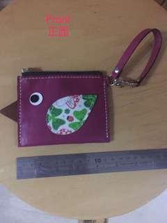 Leather card holder 皮革小包