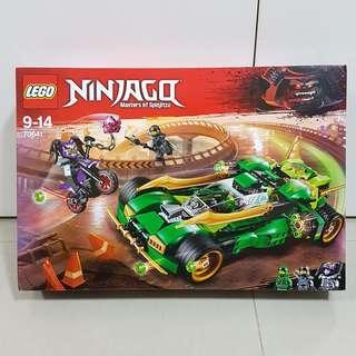 LEGO 70641 Ninjago Ninja Nightcrawler Lloyd Nya - Brand New