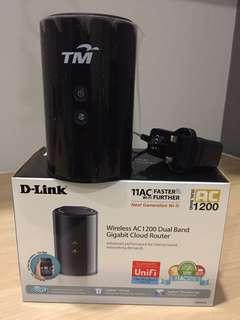 Dlink Wireless AC1200 Dual Band Gigabit Cloud Router