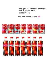 new year limited edition bts x coca cola