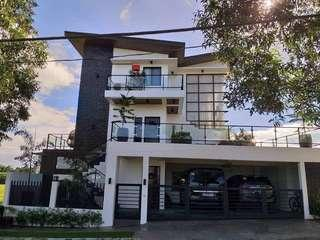 4BR House and Lot for Sale with Basement Indoor Basketball Court, Swimming Pool and Garden at Brazilia Heights Muntinlupa