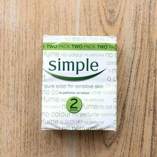 Simple Pure Soap for sensitive skin