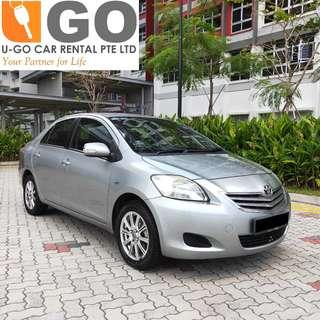 TOYOTA VIOS AUTO 1.5 Auto FOR RENT/ GRAB / GOJEK / PERSONAL USEAGE