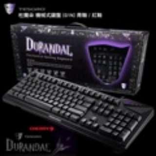 TESORO Durandal 鐵修羅杜蘭朵劍 青軸 正刻 中文機械式鍵盤 二手良品9成新 立即出貨 很少使用 已過保固