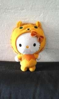 Hello kitty lion suit