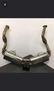 Fabspeed Maxflo Performance Exhaust System Porsche 987 Boxster/Cayman