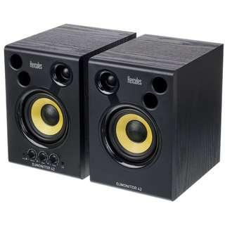 "Hercules DJMonitor 42 4"" Nearfield Powered Monitor Speakers (A Pair)"