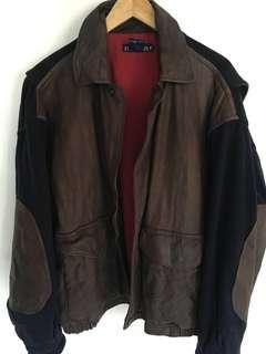 Vintage Nautica leather jacket
