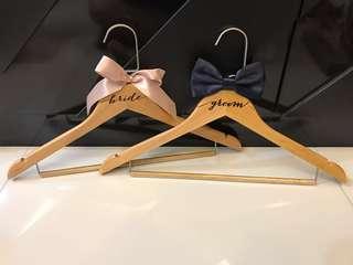 🚚 Bride & Groom Hangers (Brand New)