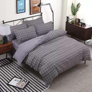 4 in 1 Fitted Bed Sheet queen and king size
