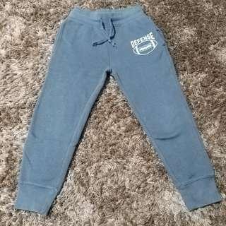 Celana training anak abu2