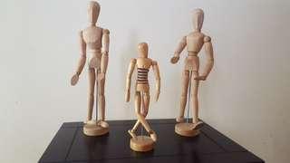 Wooden Caracters