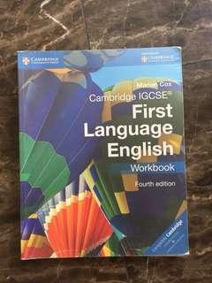 IGCSE English Coursebook and Workbook Cambridge O' Levels