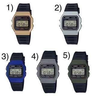 🚚 SALE Bn Casio Digital Watch F91WM